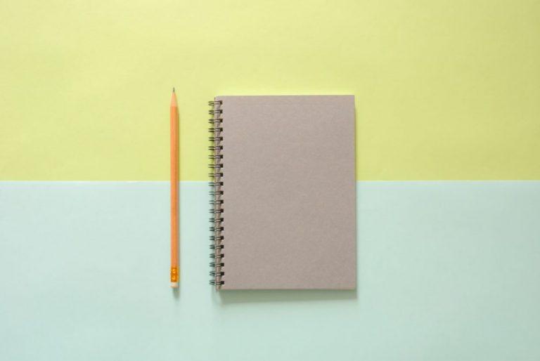 notitieboekje dagboek