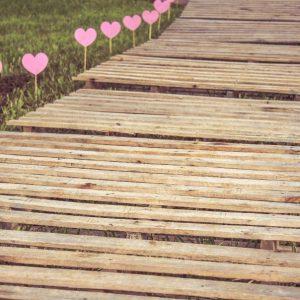 Elke kleine stap maakt een grote op je levenspad